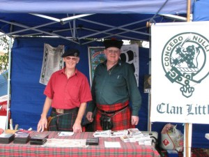 Two suspects at Clan Little stall Turakina 2015